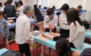 安産灸 安心安全な妊婦治療の基礎講義の様子